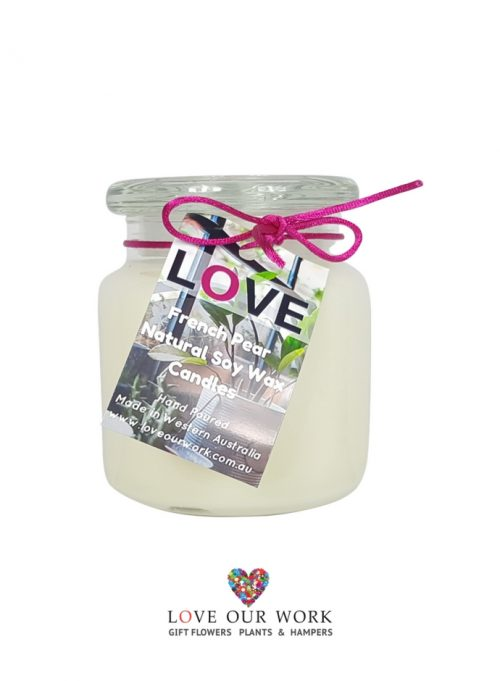 French Pear Triple Sent French Pear Triple Scented Soy Candle