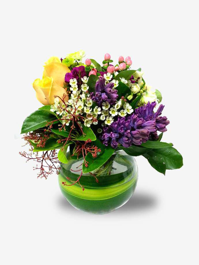 Bright & Contemporary Bowl Arrangement